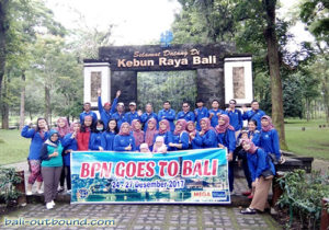 Outbound di Bedugul