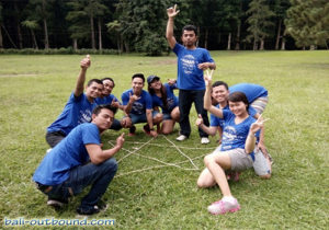 Outbound di Kebun Raya Bedugul