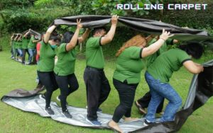 rolling carpet outbound bali